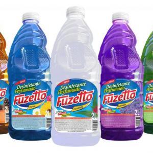 Fabricação de detergentes e desinfetantes